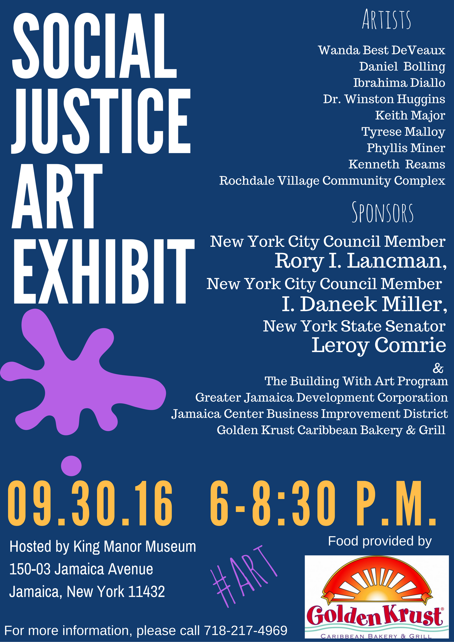 Social Justice Art Exhibit