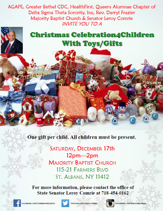 Majority Baptist Church Christmas Celebration4Children with Toys ...
