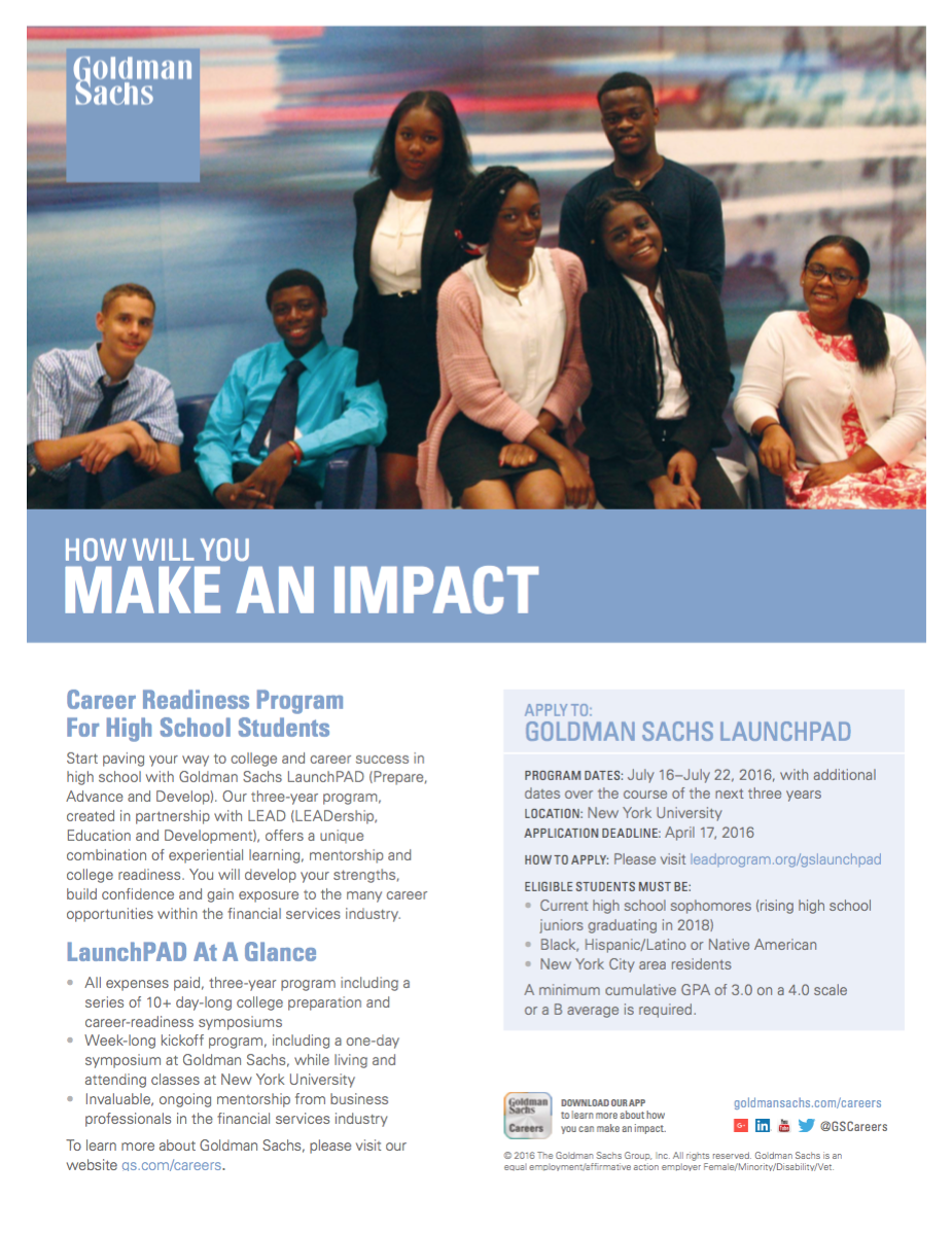 Goldman Sachs LaunchPAD Program – Jamaica 311