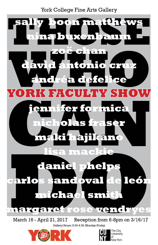 YorkFacultyShowPoster s17