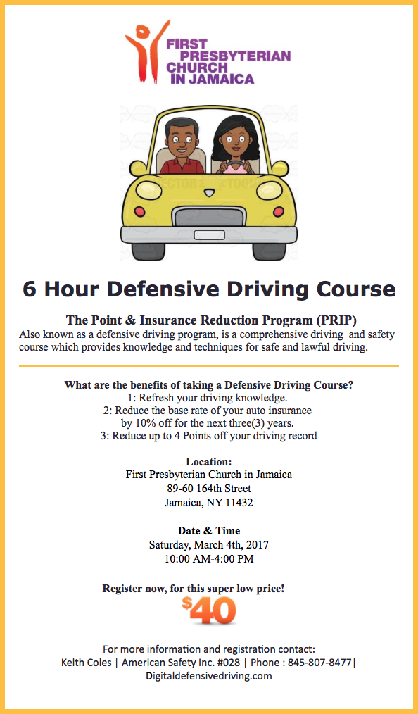 6 Hour Defensive Driving Course Jamaica 311