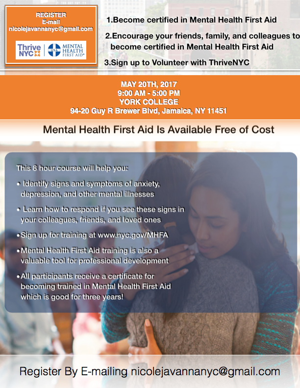 Free Mental Health First Aid Jamaica 311