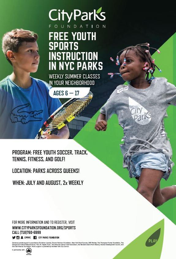 City Parks Foundation Free Youth Sports Instruction