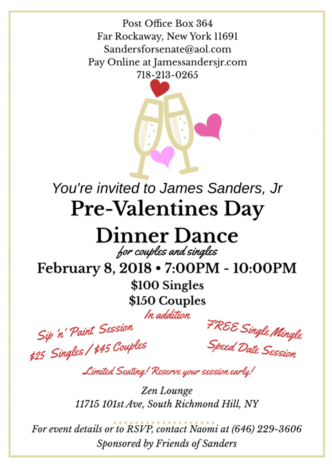 James Sanders Jr S Pre Valentines Day Dinner Dance Jamaica 311