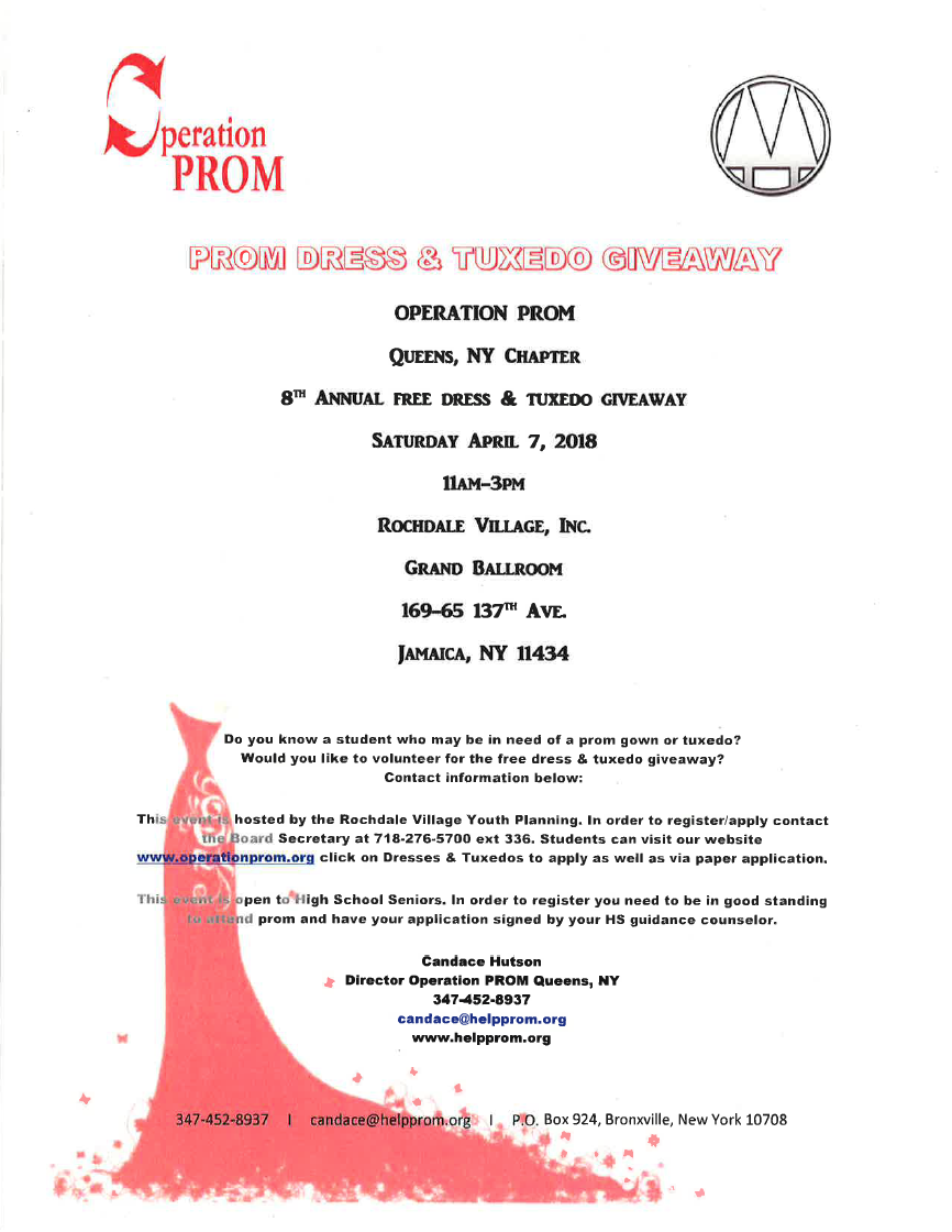 Operation Prom: Prom Dress & Tuxedo Giveaway – Jamaica 311
