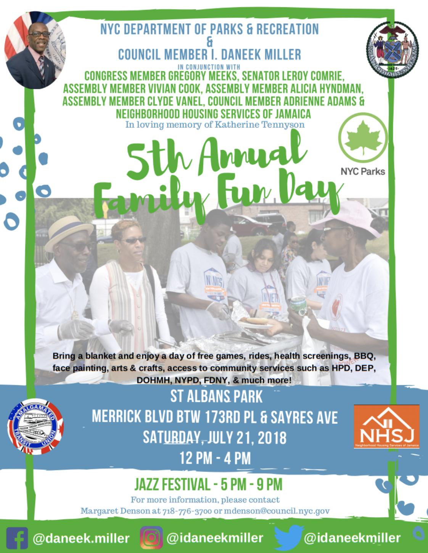 5th Annual Family Fun Day – Jamaica 311