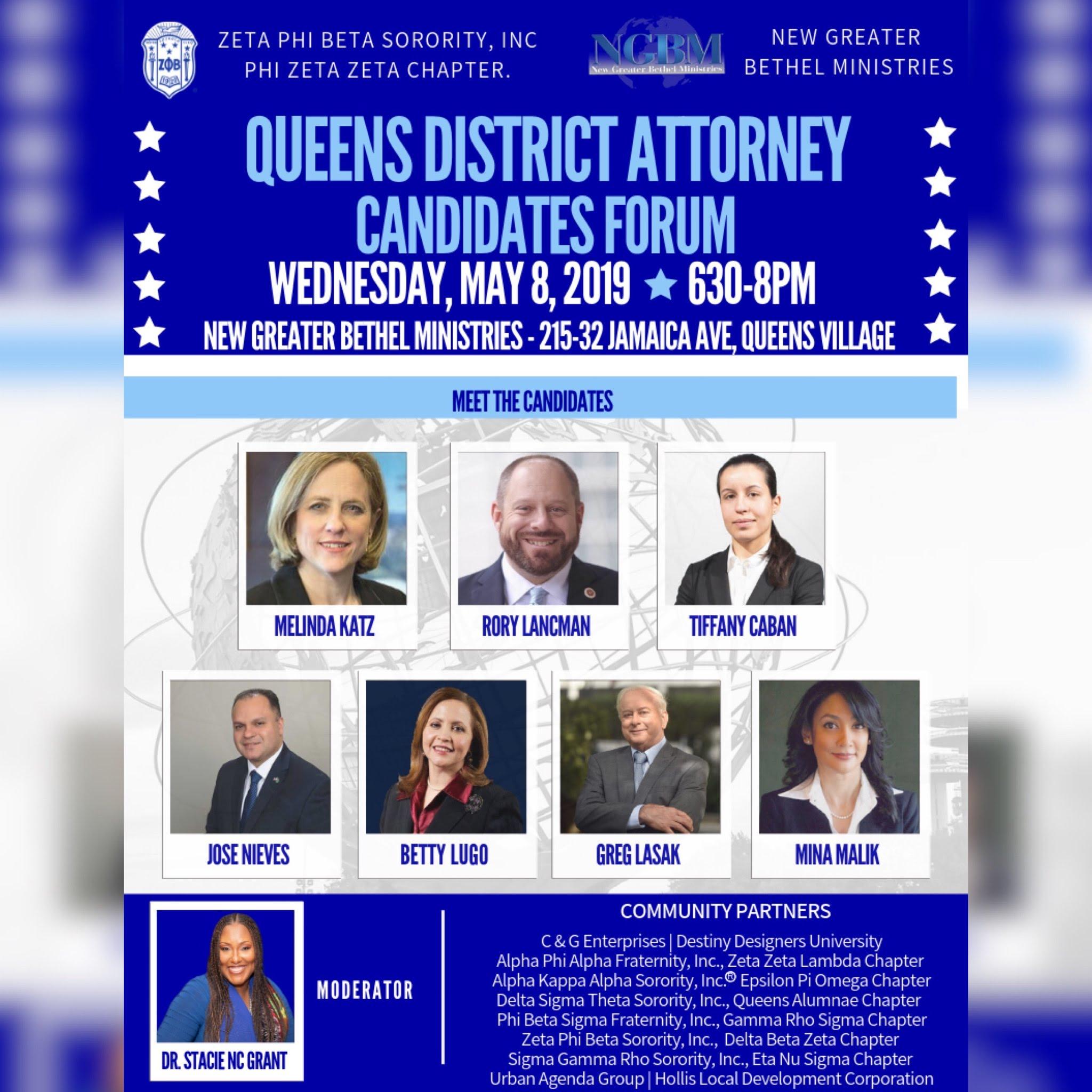 queens district attorney candidates