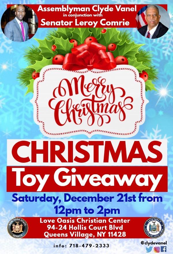 Leroy Ny Christmas Giveaway 2020 Christmas Toy Giveaway – Jamaica311